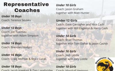Junior Representative Coaches